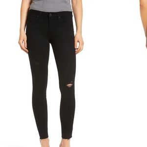 Articles of society distressed knee skinny jeans
